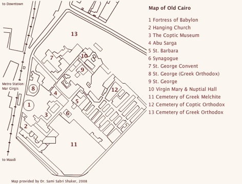 Cairo Map Pdf